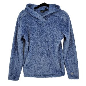 Mountain Hardware Blue Fuzzy Pullover Size M